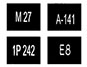 обозначение номера (1.22)